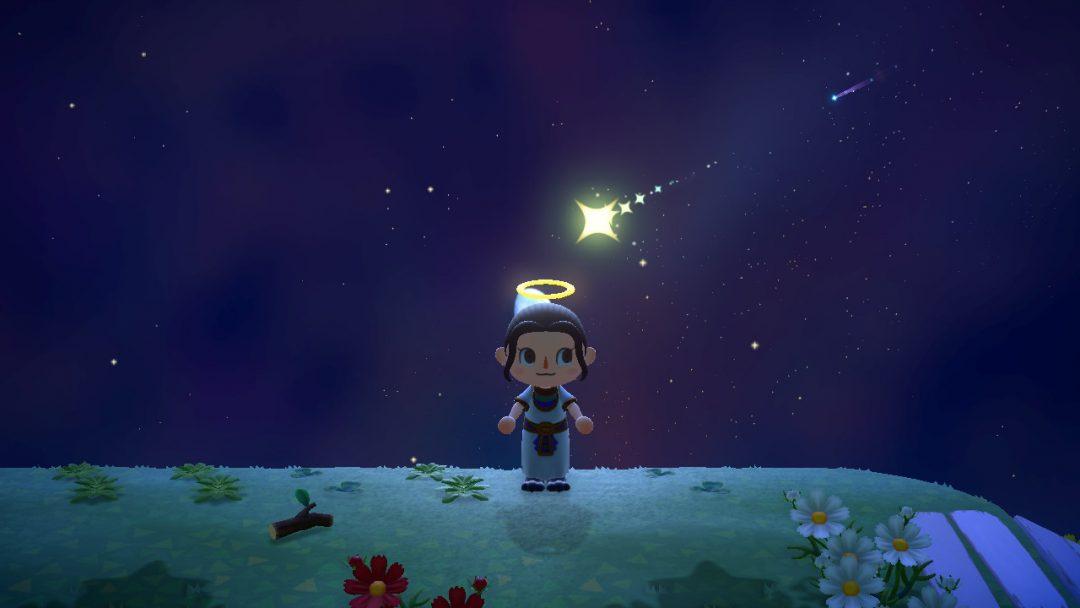 あつまれどうぶつの森 流れ星 お願いの仕方