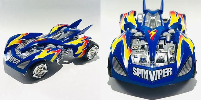 スピン バイパー 【ミニ四駆】スピンバイパーが97年以来の再販!リアルミニ四駆は本当...
